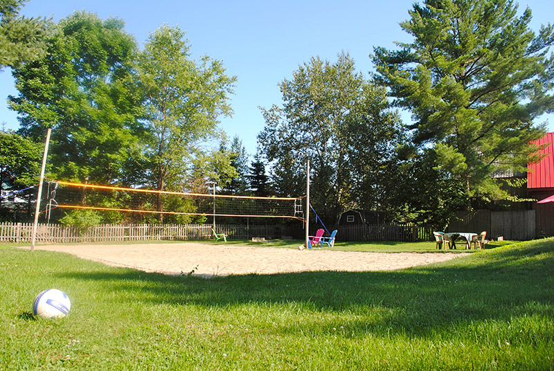 Volleyball-court